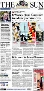 Sun paper balti... Baltimore Sun