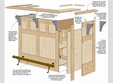 CraftsmanStyle Bar Woodsmith Plans