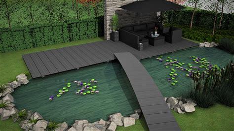 Terrasse Am Teich by Stege Und Terrassen Produkte