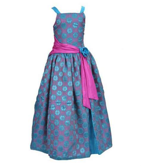 kilkari blue pink long dress  kids buy kilkari blue