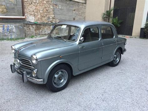 Fiat 1100 For Sale by Fiat 1100 103 Tv Stanguellini Carrozzeria Colli For Sale