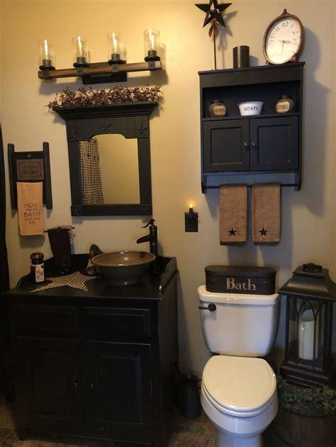 primitive bathrooms ideas  pinterest