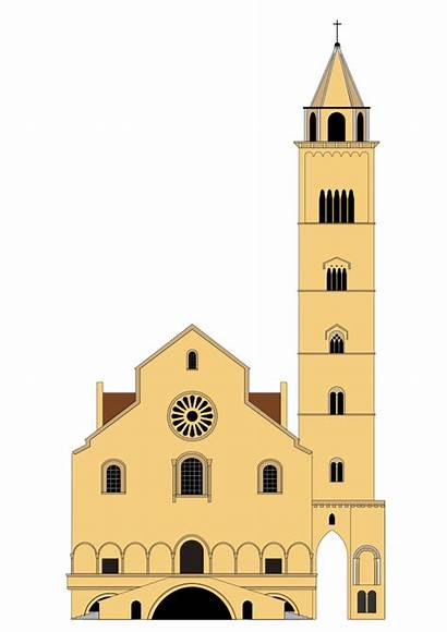 Trani Cattedrale Di Clip Clipart Catholic Onlinelabels