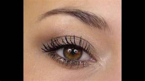 Maquillage simple pour les yeux marron foncé youtube