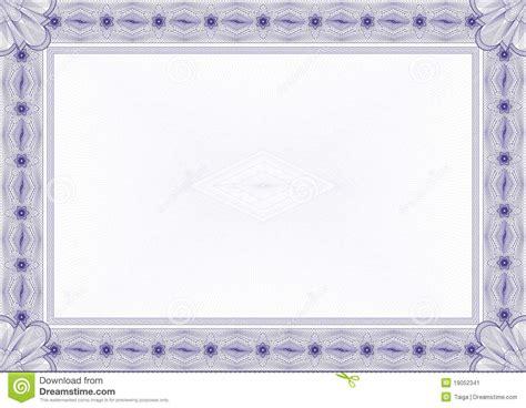 cadre dipl 244 me ou certificat classique de guilloche image stock image 19052341