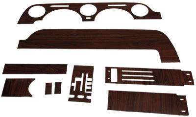 mustang woodgrain dash kit with cluster 1968 1968 dash woodgrain kit with instrument cluster with out a c autoware