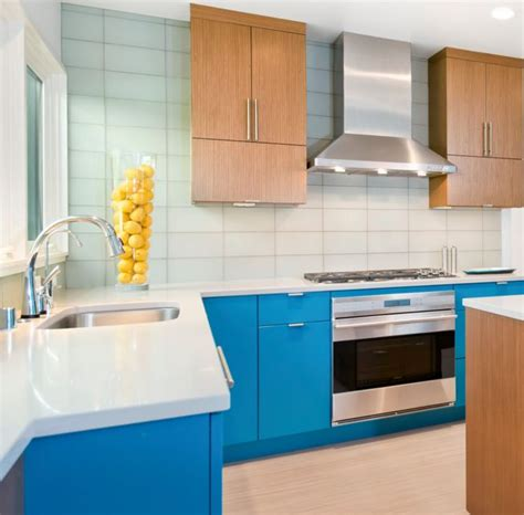 Blue Kitchen Decor Ideas - 20 combinaciones de color para cocinas modernas