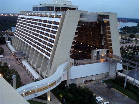 History Of The Contemporary Resort Rooms  Disney Hotels Fan