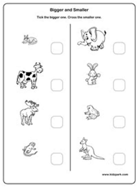 big and small printable worksheets homeshealth info