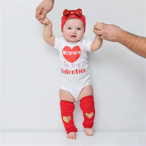 valentines day baby girl outfit toddler shirt