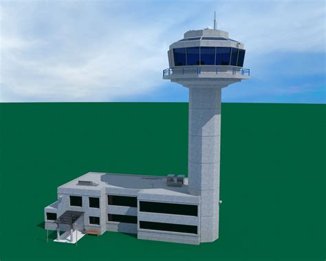 airport air traffic control tower ethereal   store