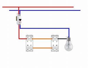 Cabler Un Va Et Vient : comment brancher un interrupteur sch ma c blage interrupteurs va et vient legrand elecproshop ~ Voncanada.com Idées de Décoration