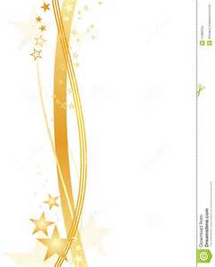 Gold Star Border Clip Art
