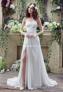 Robe Simple Mariage : robe de mariage simple le son de la mode ~ Preciouscoupons.com Idées de Décoration