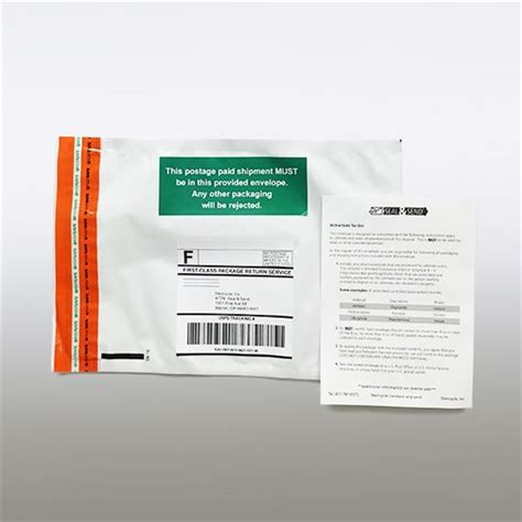 seal send controlled substance return envelopes stericycle