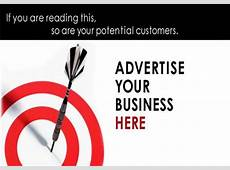 Advertise Your Event Or Business With Us
