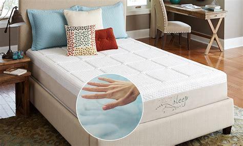 natures sleep pillows nature s sleep gel mattress groupon goods