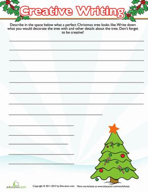 composition templates thirfd christmas tree writing prompt christmastime in the city