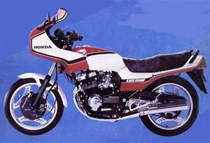 Honda Cbx 550f Specs - 1981  1982