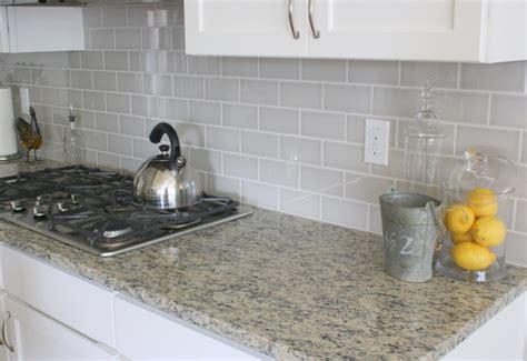 Glass Mosaic Tile Kitchen Backsplash Ideas - grey backsplash best home decoration world class