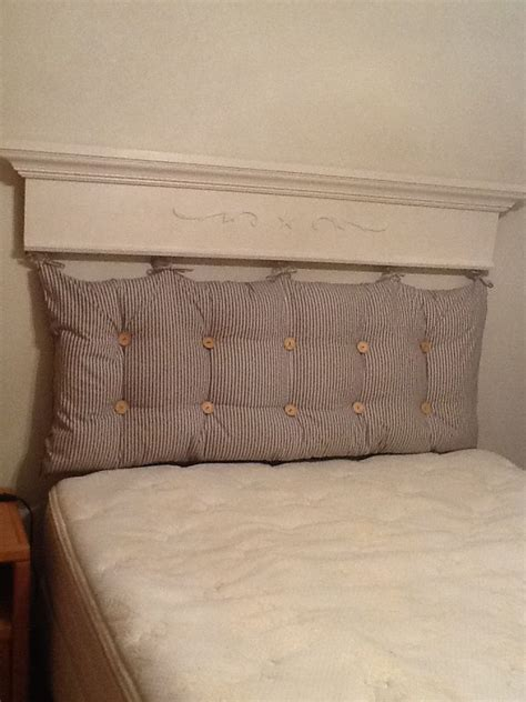 Tufted Pillow Headboard  Ive