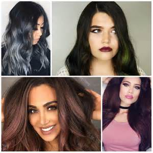 2017 Hair Color Ideas Dark