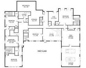 us homes floor plans u shaped house plans single level home ideas floor plans architecture design