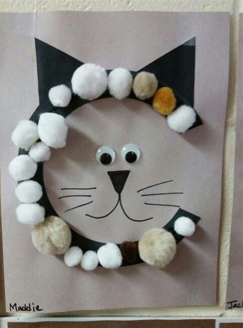 cat catina cat preschool letter crafts cat