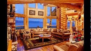 Custom, Luxury, Log, Homes