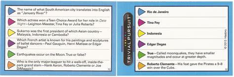 trivial pursuit modern questions 2013 hasbro trivia pursuit family checklist supercollector catalog