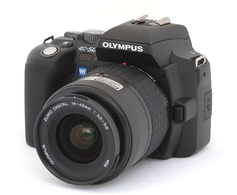 Digital Cameras  Olympus Evolt E500 Review, Information
