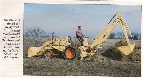 case backhoe loader gas eng yesterdays tractors