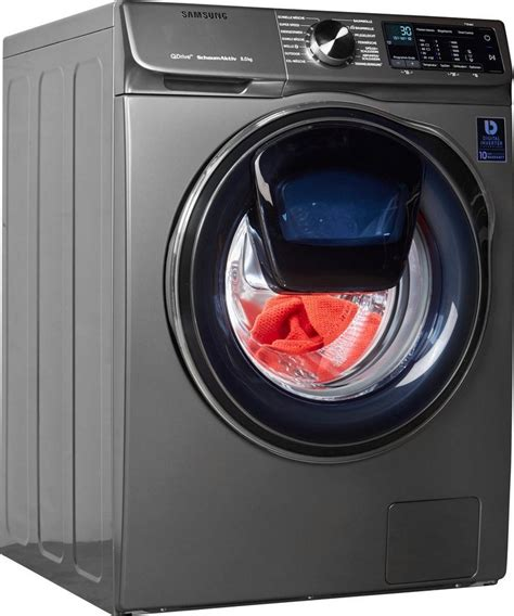 samsung waschmaschine 8 kg samsung waschmaschine quickdrive ww8am642opx eg 8 kg