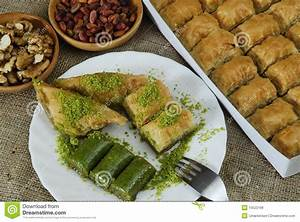 Turkish Dessert - Baklava Royalty Free Stock Image - Image ...