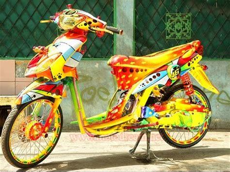 Modifikasi Mio Sporty Jari Jari by Motor Trend Modifikasi Modifikasi Motor Yamaha Mio