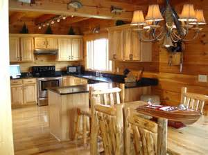 Log Cabin Kitchen Ideas by