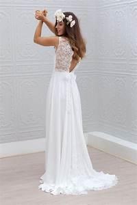 robe de mariee dos nu robe marie laporte modele ella With robe simple mariage