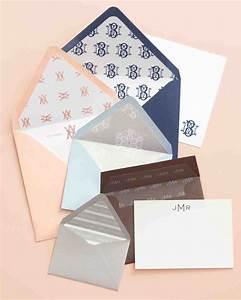 wedding invitation envelope liner how to martha stewart With wedding invitations outside envelope