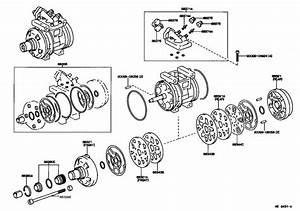 Toyota Land Cruiser A  C Compressor Muffler  Seal  Cooler