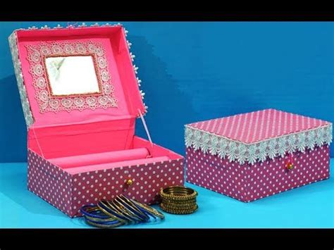 box crafts ideas easy best out of waste craft idea cardboard box bangles 1165