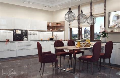 cuisine luxueuse appartement luxe ultra moderne à kiev en