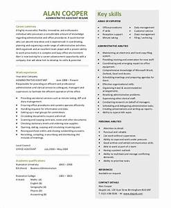 9 sample resume summary statements sample templates With executive assistant resume summary
