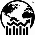 Icon Business Symbol Earth Globe Graphic Icons
