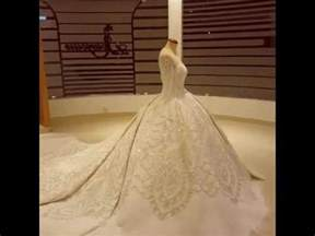 robe du mariage la plus robe de mariage du monde
