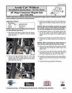 Arctic Cat Wildcat Installation Instructions