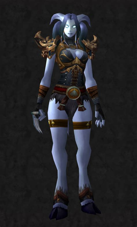 draenei wow warcraft female monk transmog stoicism front sets weapons super cool knight death sci games