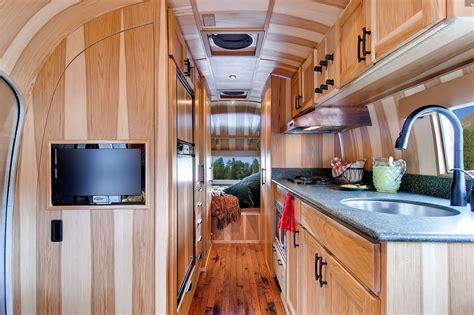 beautiful mobile home interiors airstream flying cloud mobile home idesignarch