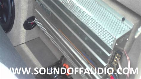 ford  speaker box  amp rack   youtube
