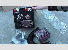 BMW K&N 57i Induction Kit Box Opening For BMW 318i 320i