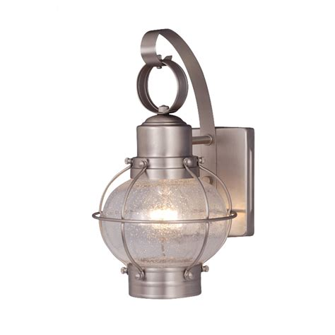 chatham nickel outdoor wall sconce